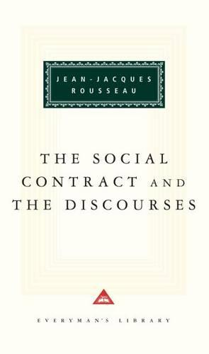 The Social Contract And The Discources (Hardback)