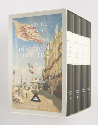 In Search Of Lost Time Boxed Set (4 Volumes) (Hardback)