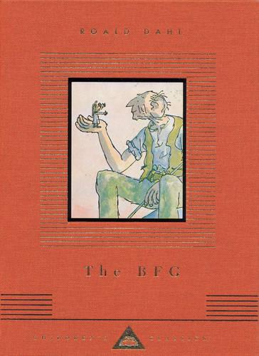 Cover of the book, The BFG.