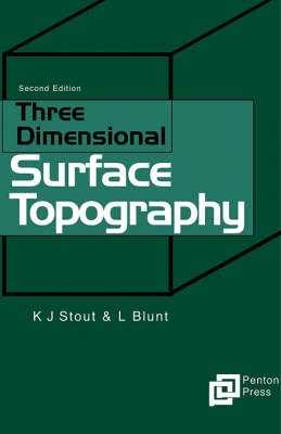 Three Dimensional Surface Topography (Hardback)