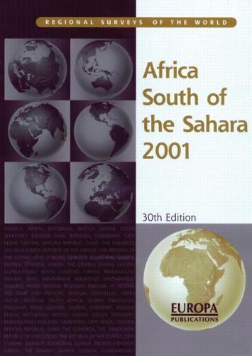 Africa South Of Sahara 2001 (Hardback)