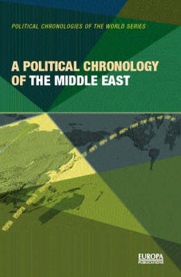 A Political Chronology of the Middle East (Hardback)