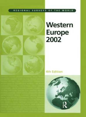 Western Europe: 2002 - Regional surveys of the world (Hardback)