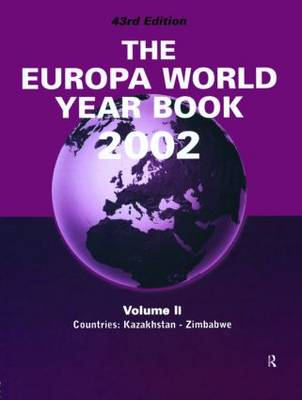 The Europa World Year Book: 2002 (Hardback)