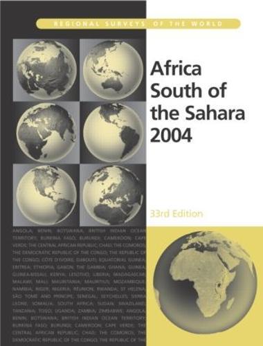 Africa South of the Sahara 2004 (Hardback)