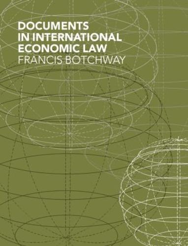 Documents in International Economic Law (Hardback)