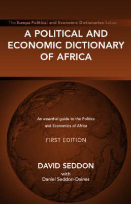 A Political and Economic Dictionary of Africa (Hardback)