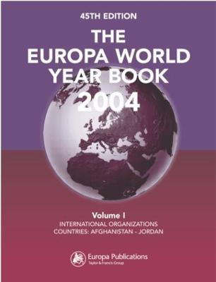 The Europa World Year Book 2004 (Hardback)