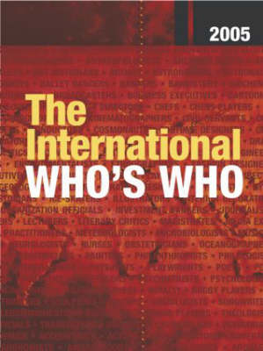 International Who's Who 2005 (Hardback)