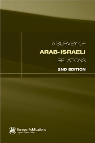 Survey of Arab-Israeli Relations (Hardback)