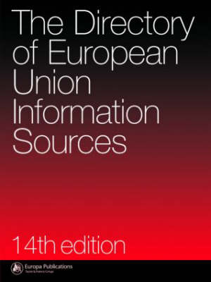 The Directory of EU Information Sources (Hardback)