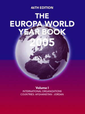 The Europa World Year Book 2005 (Hardback)