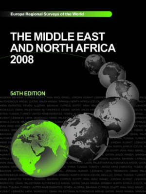 The Middle East and North Africa 2008 (Hardback)