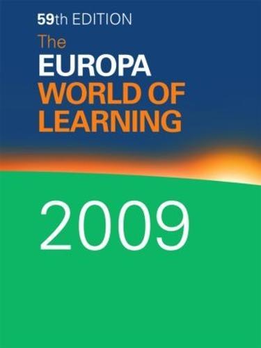 The Europa World of Learning 2009 (Hardback)