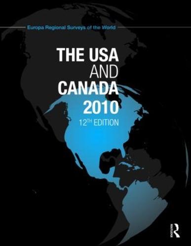 USA and Canada 2010 (Hardback)