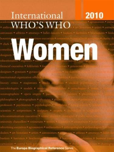 International Who's Who of Women 2010 (Hardback)