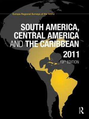 South America, Central America and the Caribbean 2011 (Hardback)