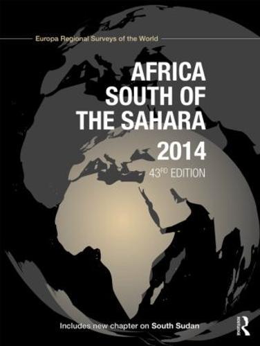 Africa South of the Sahara 2014 (Hardback)