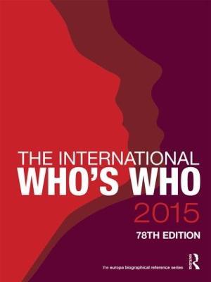 The International Who's Who 2015 (Hardback)