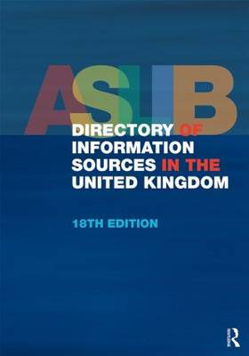 Aslib Directory of Information Sources in the United Kingdom (Hardback)