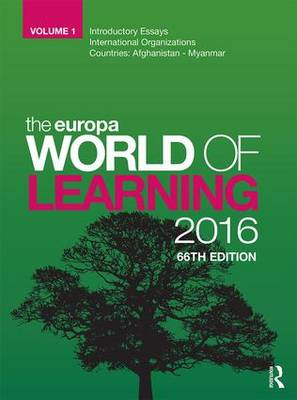 The Europa World of Learning 2016 (Hardback)