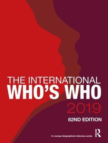 The International Who's Who 2019 (Hardback)