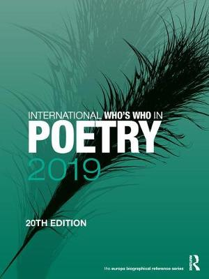 International Who's Who in Poetry 2019 (Hardback)