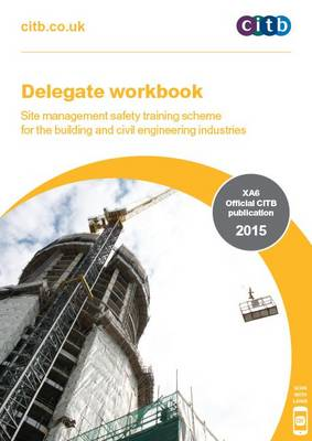 Citb books and biography waterstones delegate workbook site management safety training scheme xa615 for the building fandeluxe Gallery