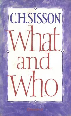 What and Who (Paperback)