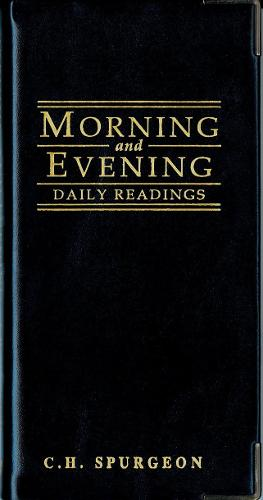 Morning And Evening - Gloss Black (Leather / fine binding)