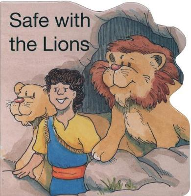 Safe with the Lions - Board Books (Board book)