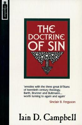 The Doctrine of Sin (Paperback)