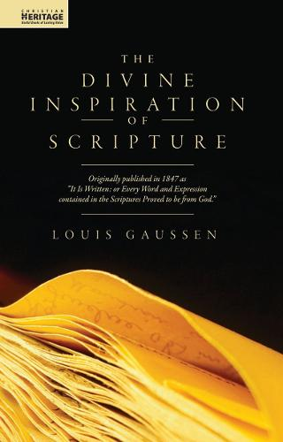 Divine Inspiration of Scripture (Hardback)