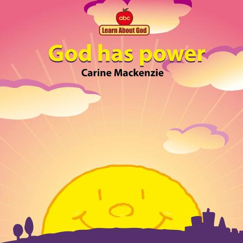 God Has Power Board Book - Board Books Learn About God (Board book)