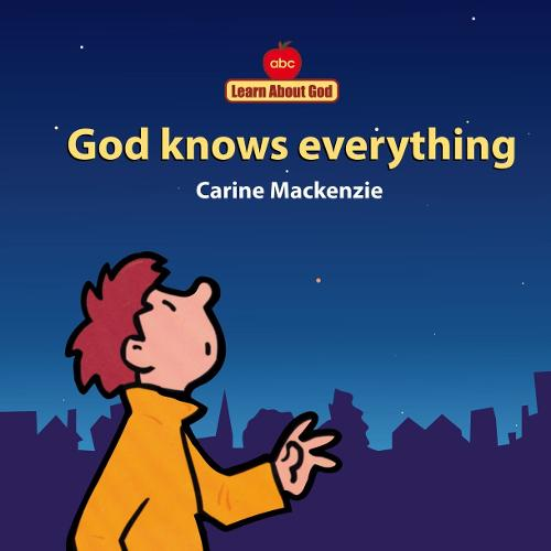God Knows Everything Board Book - Board Books Learn About God (Board book)