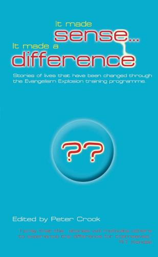 It Made Sense... It Made A Difference (Paperback)