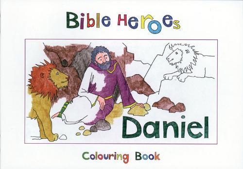 Bible Heroes Daniel - Bible Art (Paperback)