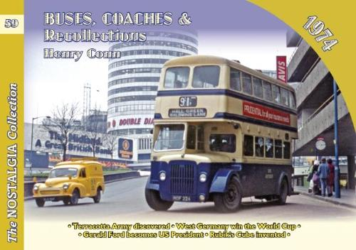 Buses Coaches & Recollections 1974 - Recollections 59 (Book)