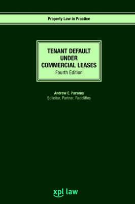 Tenant Default Under Commercial Leases (Paperback)