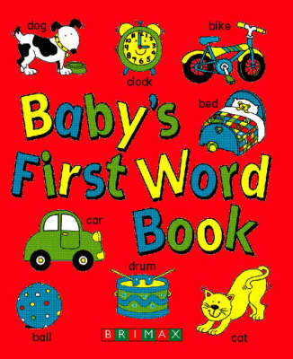 Baby's First Word Book (Board book)