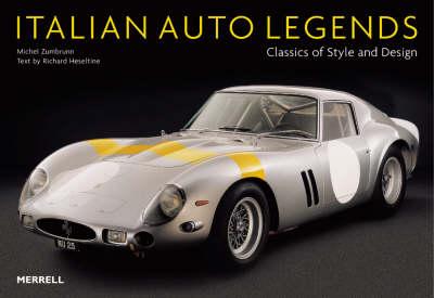 Italian Auto Legends: Classics of Style and Design (Paperback)