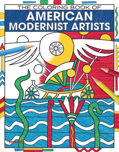 The Coloring Book of American Modernist Artists (Paperback)