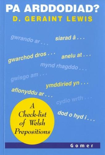 Pa Arddodiad? - A Check-list of Verbal Prepositions (Paperback)