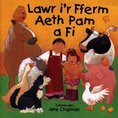 Lawr I'r Fferm Aeth Pam Afi (Paperback)