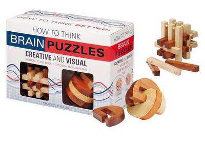 How to Think Creative and Visual Brain Puzzle Pack - How to Think