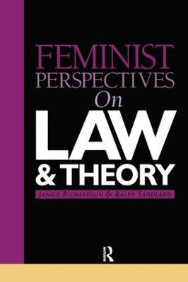 Feminist Perspectives on Law and Theory - Feminist Perspectives (Paperback)
