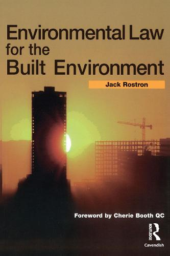 Environmental Law for The Built Environment (Paperback)
