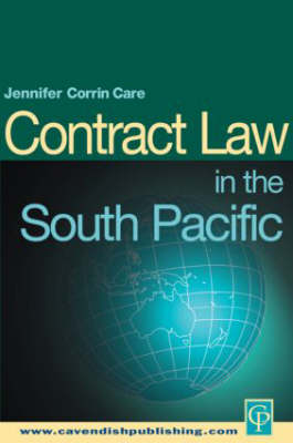 South Pacific Contract Law - South Pacific Law (Paperback)