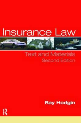 Insurance Law: Text and Materials (Paperback)