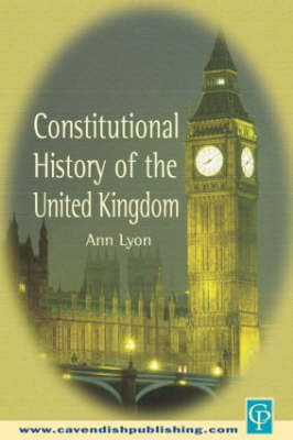 Constitutional History of the United Kingdom (Paperback)